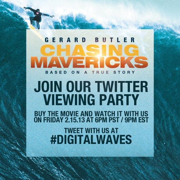 Chasing Mavericks Twitter Party