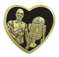 Star Wars Gold Pin