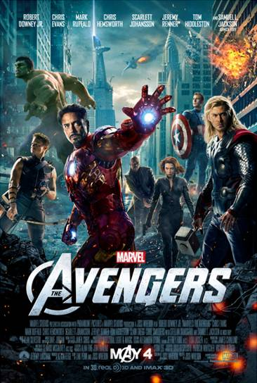 Marvel's The Avengers 1-sheet