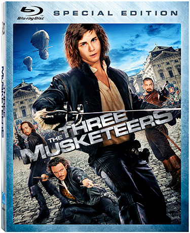 The Three Muskateers DVD Cover