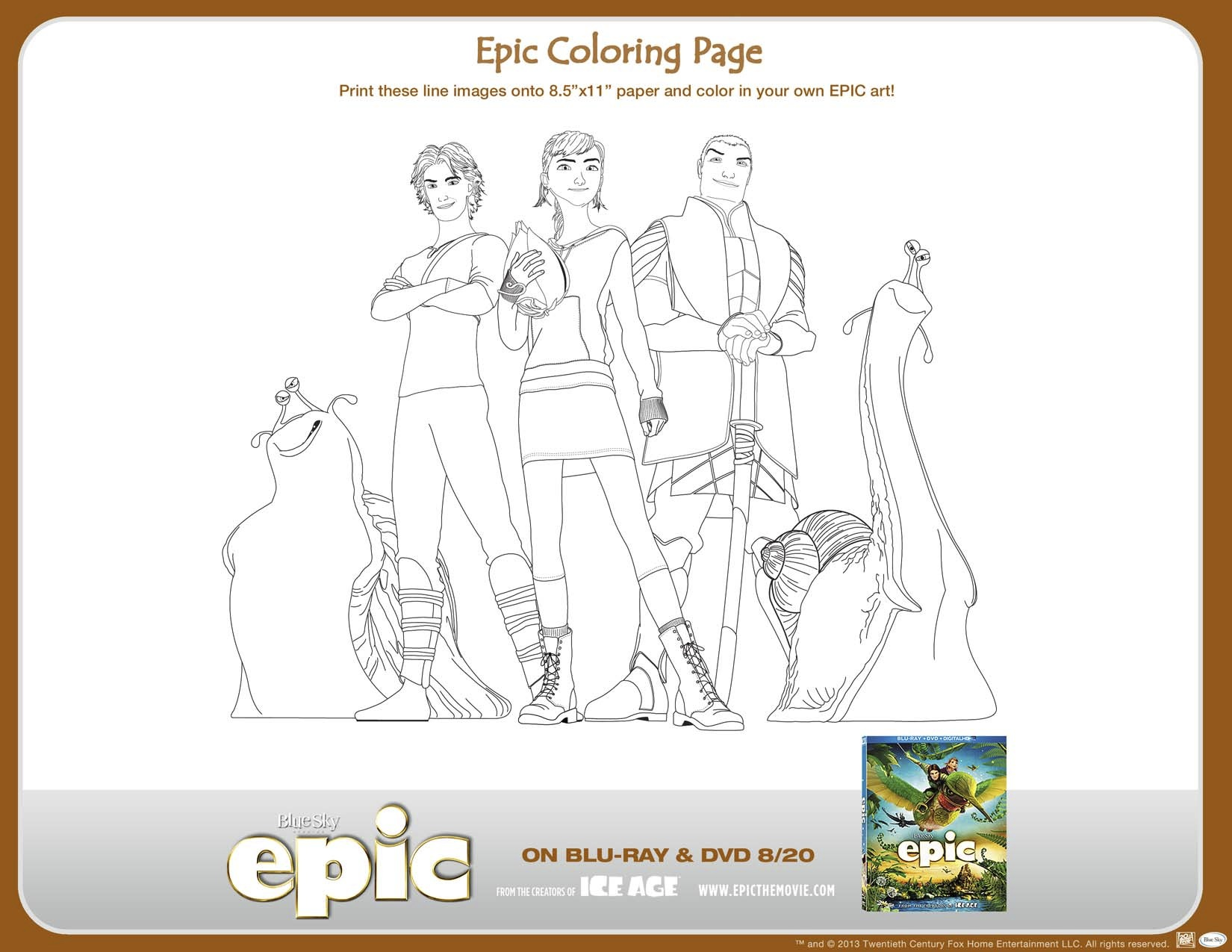Enterteenmentnewscom Epic On Blu Ray And Dvd Feature